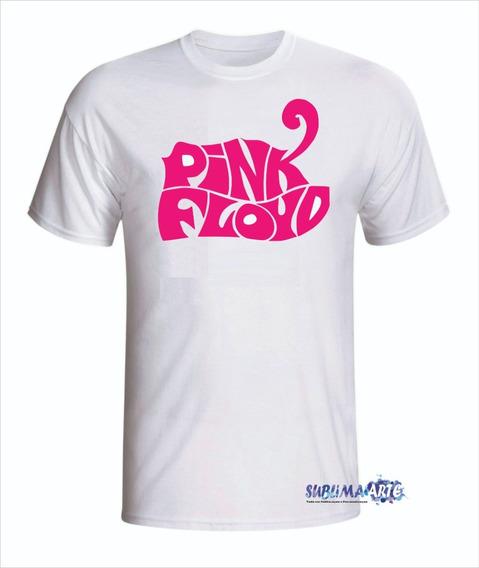 Camiseta Personalizada Pink Floyd - Promoção Em Todas Cores