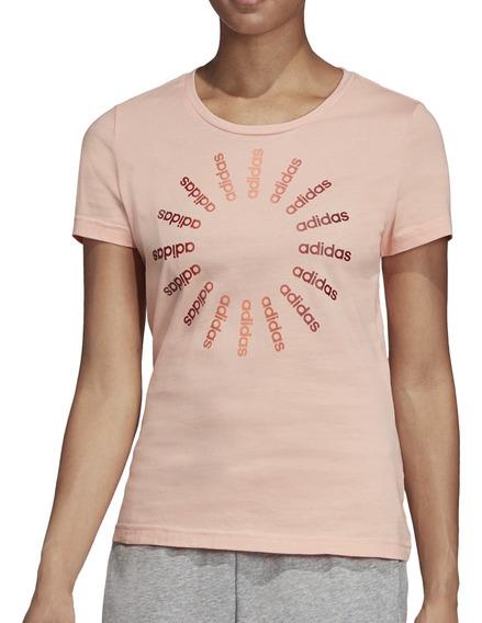 Remera adidas Moda W Circled Graphic Mujer Sa
