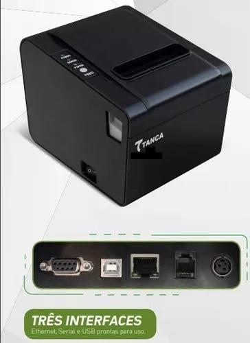 Impressora Termica Nao Fiscal Tanca Tp-650 Usb/rede C/gui.