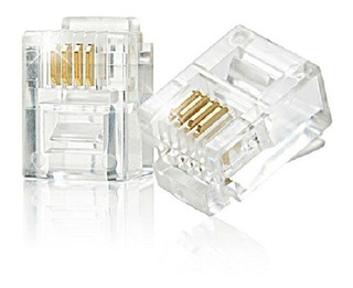 Conector Rj11 Para Telefono (20 Uni)