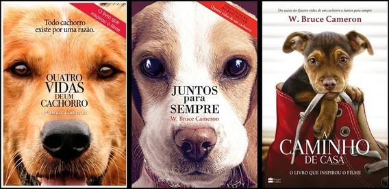 Quatro Vidas De Um Cachorro+juntos P/ Sempre+caminho De Casa