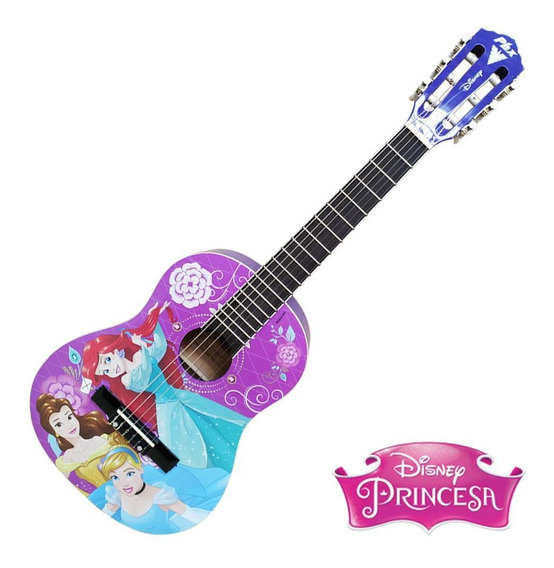 Violão Infantil Nylon Phx Disney Princess Vip-4 Rosa Outlet