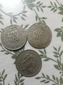 3 Moedas 400 Reis 1918