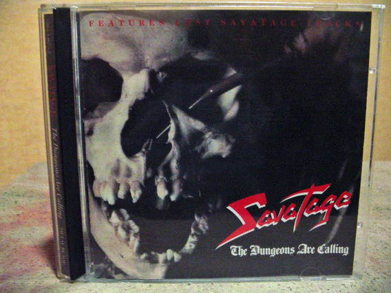 Savatage The Dungeons Are Calling W/bonus Made In Usa