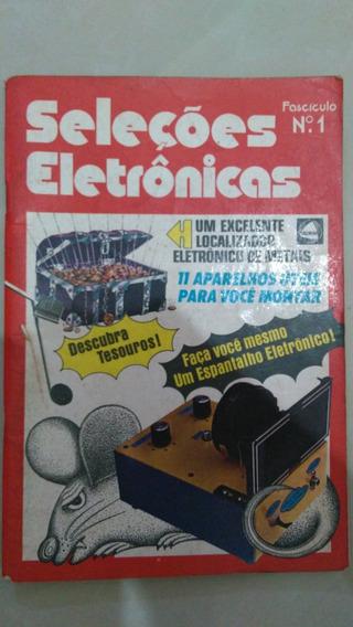 Revista Seleções Eletrônicas - Fascículo Nº1 - 1981 - Rara