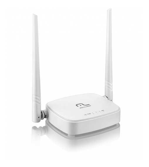 Roteador Wireless 300mbps 2.4ghz Qos Wisp 2 Antenas 5dbi Mul