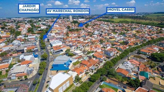 Casa 3 Dormitórios Sendo 2 Suítes À Venda, 198 M² Por R$ 747.000 - Jardim Chapadão - Campinas/sp - Ca6851