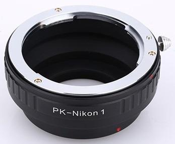Anel Adaptador Lente Pentax Pk-nikon1 N1 J1 J2 J3 J4 Nikon