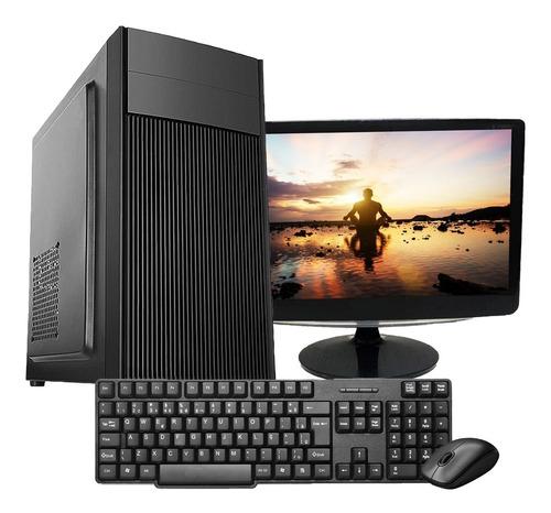 Pc Core 2 Duo 4gb Hd80 Teclado Mouse E Monitor