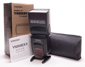 Flash Yongnuo Yn568ex Iii Para Canon (novo Modelo) C/nfe