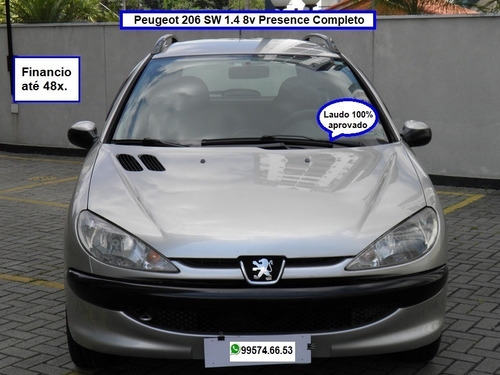 Peugeot 206 Sw Presence 1.4 8v Completo