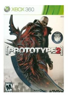Prototype 2 Para Xbox 360 Original Fisico