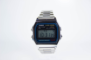 Reloj Hombre Mujer Casio Retro A158 Wa Vintage 80s Original
