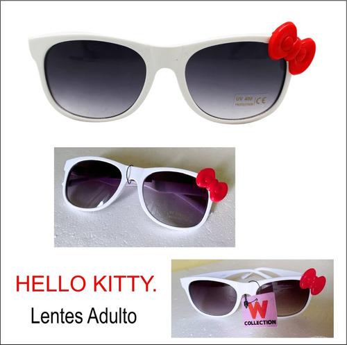 Lentes Hello Kitty Adulto, 400% Uv Proteccion