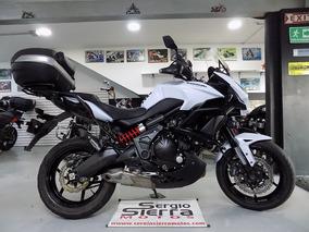 Kawasaki Versys650 Abs Blanca 2015