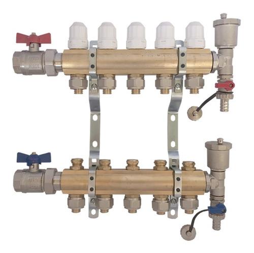 Colector De 5 Vías Super Completo Heat Flow - El Mejor -