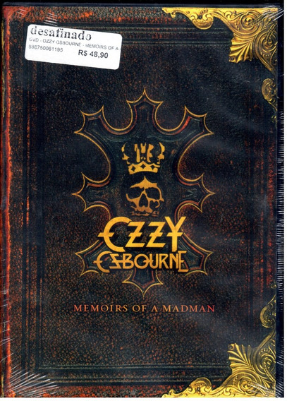 Dvd - Ozzy Osbourne - Memoirs Of A Madman
