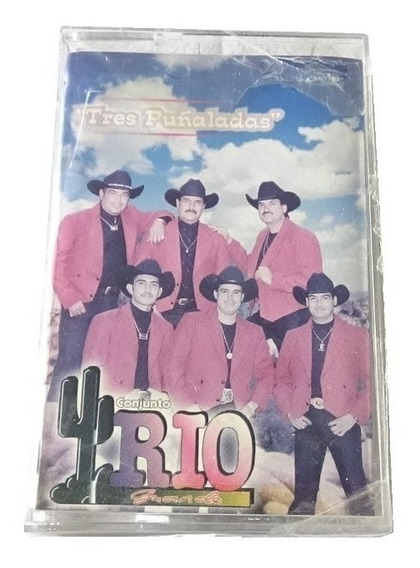 Conjunto Rio Grande Tres Puñaladas Cassette Nuevo Astro