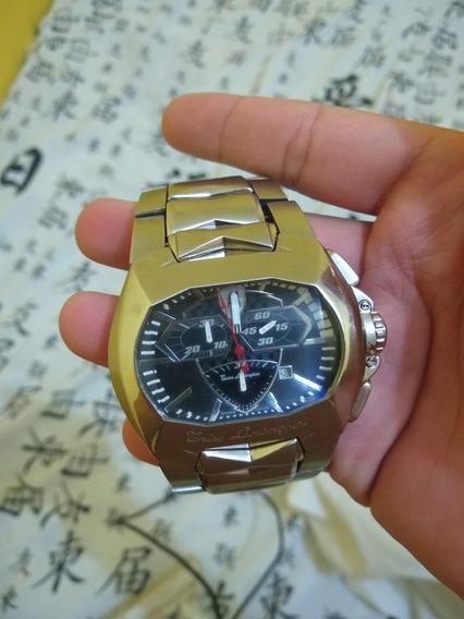 Relógio De Prata Lamborghini Original
