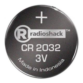 Kit 10 Baterias De Litio Radioshack Cr 2032