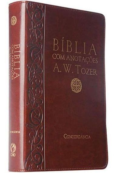Bíblia Com Anotações A. W. Tozer Luxo