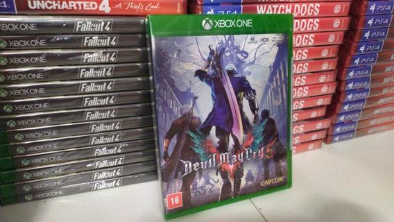 Devil May Cry 5 V Xbox One Mídia Física Português Lacrado