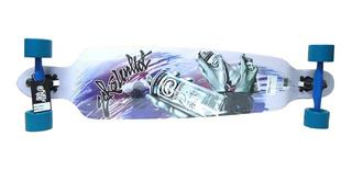 Skate Longboard Ecko Unltd. - Importado 102 X 23 Cm Maple