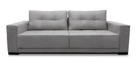 Sofa 2 Lugares 1.70m - Modelo Light - (tecido Linho)