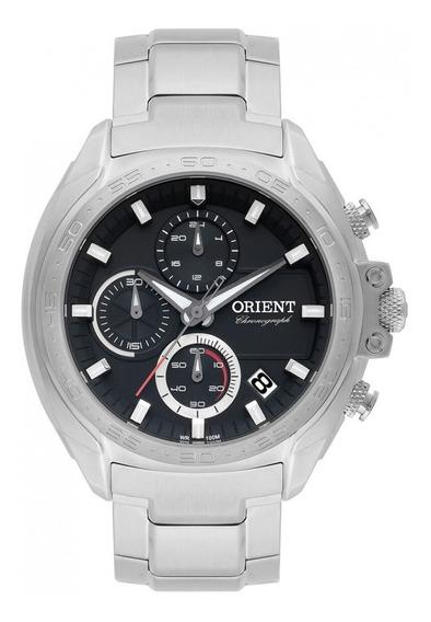 Relógio Masculino Orient Mbssc175 P1sx Analógico Prata Crono