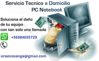 Servicio Tecnico De Computadores Windows A Domicilio