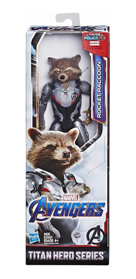Rocket Marvel Avengers End Game 30 Cm Articulado Hasbro