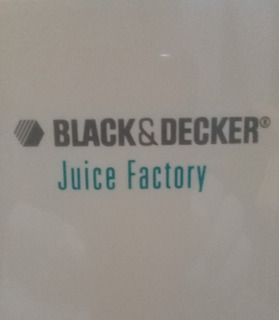 Juguera Estractor Black & Decker Juice Factory