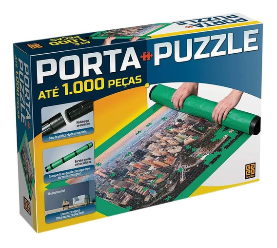 Porta-puzzle Quebra Cabeça Até 1000 Peças Grow