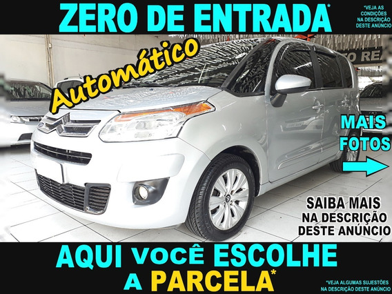 Citroen C3 Picasso 1.6 Automático Flex 2012 / Carro Barato !