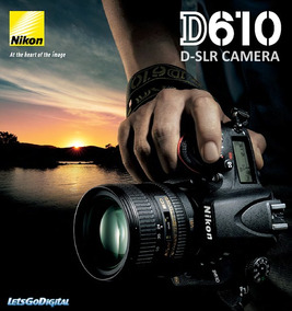 Nikon Dslr D610 Kit C/24-85 3.5-5.6vr C/ N.f. E Seguro Envio