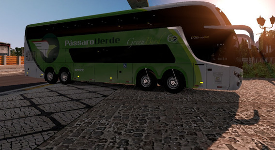Euro Truck Simulator 2 Brasil Mod Bus + Mapa Brasil Ets2
