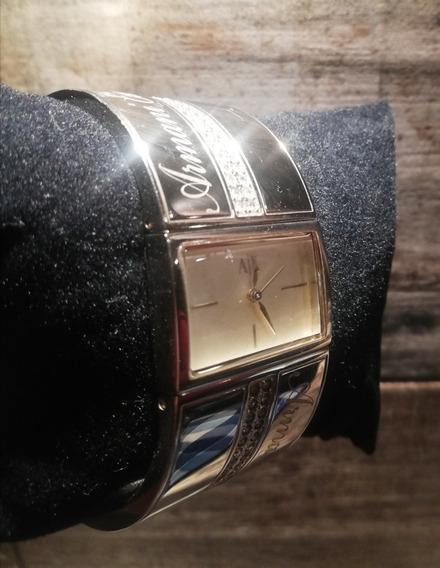 Reloj Armani Exchange Ax3096 Usado Dorado Dama