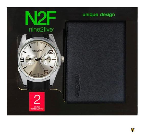 Reloj Para Caballero Nine2five Setn2f111 Cartera De Regalo