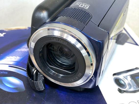 Filmadora Sony Handycam Dcr-sr47 60x Zoom Ótico