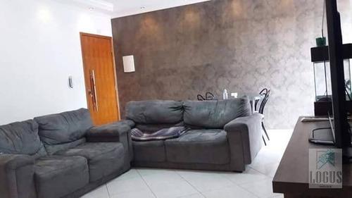 Imagem 1 de 12 de Apartamento Com 2 Dormitórios À Venda, 82 M² Por R$ 300.000 - Vila Clarice - Santo André/sp - Ap0592