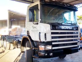 Scania P-124 Cb 360 Nz 6x4 - 00/00 - Plataforma, Único Dono