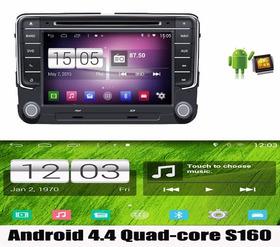 Kit Central Multimidia Android 4.4.4 Novo Jetta 17 Quad Core
