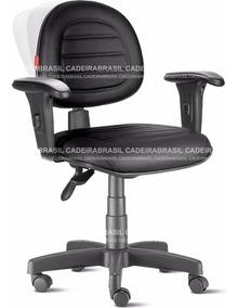 Cadeira Escritório Ergonômica Com Braços Executiva Cb70