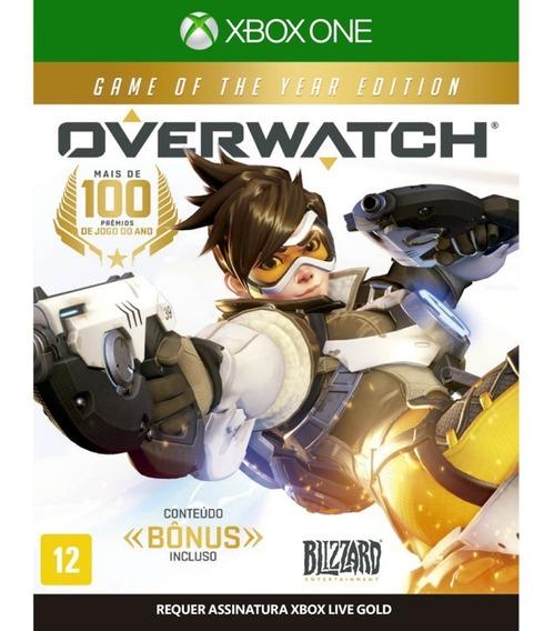 Overwatch - Xbox One - Novo - Midia Fisica - Lacrado
