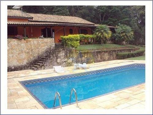 Chácara Residencial À Venda Em Condomínio Fechado , Atibaia - Ch0222. - Ch0222