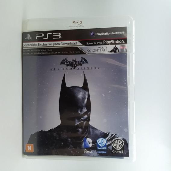 Batman Arkham Origins Ps3 Mídia Física *usado*