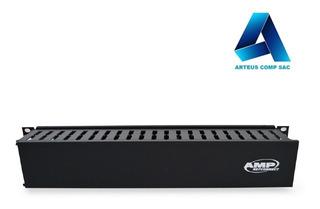 Amp Ordenador De Cable Horizontal Frontal De 2ru 13751631
