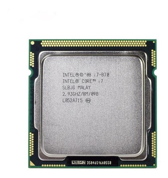 Processador Intel Core I7-870 2,93ghz 1156 Ddr3 8mb Envio24h