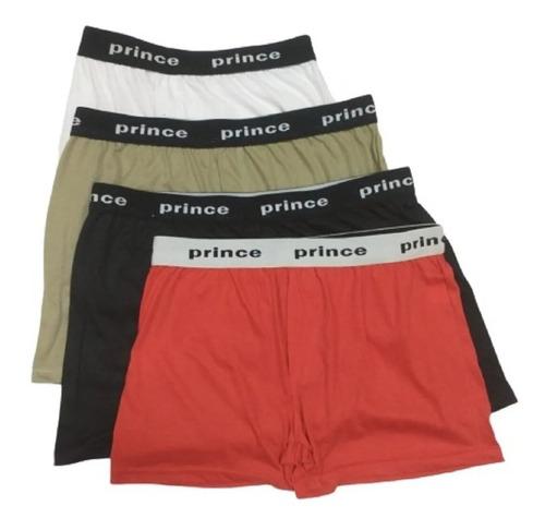 Imagen 1 de 2 de Boxer De Hombre Algodon Prince Talle Especial Pack X 03 Unid