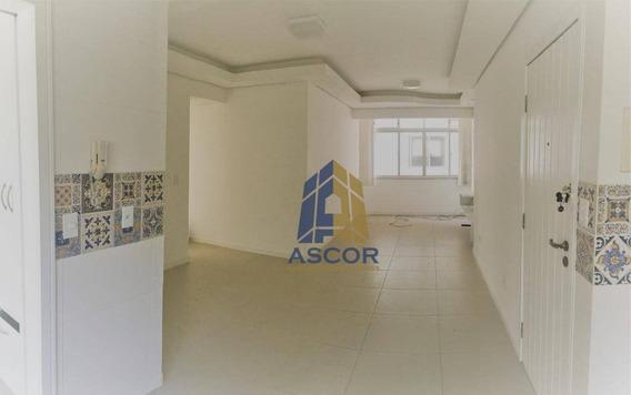 Apartamento Com 3 Dormitórios Para Alugar, 103 M² Por R$ 1.590,00/mês - Kobrasol - São José/sc - Ap2521